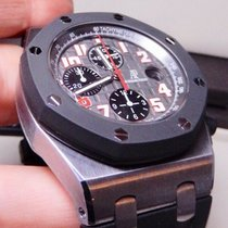 Audemars Piguet Tantalum Automatic Grey 42mm pre-owned Royal Oak Offshore Chronograph