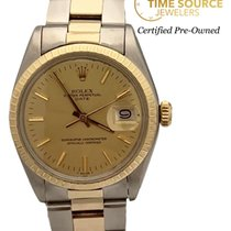 Rolex Oyster Perpetual Date Steel 34mm Champagne United States of America, New York, Huntington Village