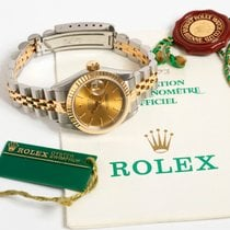 Rolex Lady-Datejust nuevo 1995 Reloj con documentos originales Rolex Lady Datejust Ref 69173