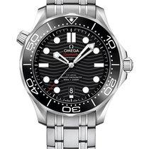 Omega Seamaster Diver 300 M Сталь 42mm Чёрный
