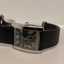 Cartier Tank MC Steel Black Roman numerals United States of America, Connecticut, Stamford