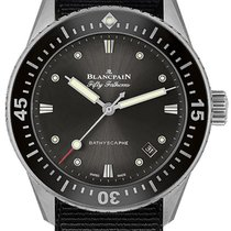 Blancpain Fifty Fathoms Bathyscaphe Otel 38mm Negru