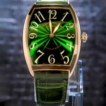 Franck Muller pre-owned Automatic 40mm Green Sapphire crystal