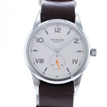 NOMOS Club Campus Steel 38.5mm White United States of America, Georgia, Atlanta