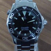 Omega Seamaster Diver 300 M Сталь 36mm Чёрный Без цифр