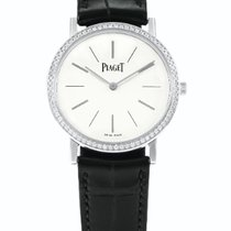 Piaget Altiplano pre-owned 36mm White Leather