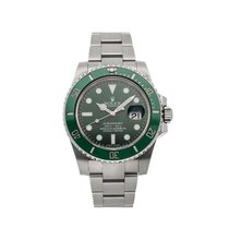 Rolex Submariner Date 116610LV pre-owned
