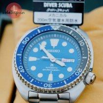 Seiko Prospex Aço 47,7mm Azul Sem números