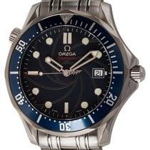 Omega Seamaster Acél 41mm Kék