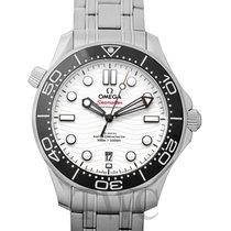 Omega Seamaster Diver 300 M Steel 42mm White
