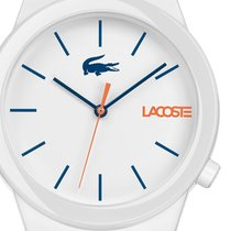 Lacoste Plastic Quartz White 41mm new