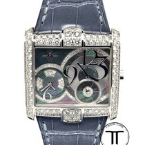 Harry Winston Avenue White gold 36.2mm Mother of pearl Arabic numerals United States of America, New York, New York