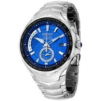 Seiko Coutura Steel 44.5mm Blue United States of America, New Jersey, Somerset
