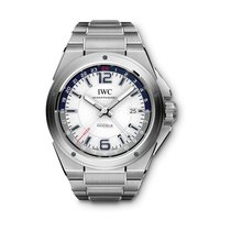 IWC IW324404 Ατσάλι Ingenieur Dual Time