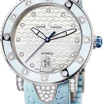 Ulysse Nardin Lady Diver neu Automatik Uhr mit Original-Box und Original-Papieren 8103-101EC-3C-13