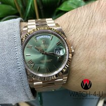 Rolex Day-Date President 228235 40mm 18k Everose Gold Unworn