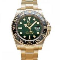 Rolex GMT-Master II Żółte złoto