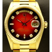 Rolex | Day Date, 18kt Yellow Gold, Ref. 18238, Degrade...