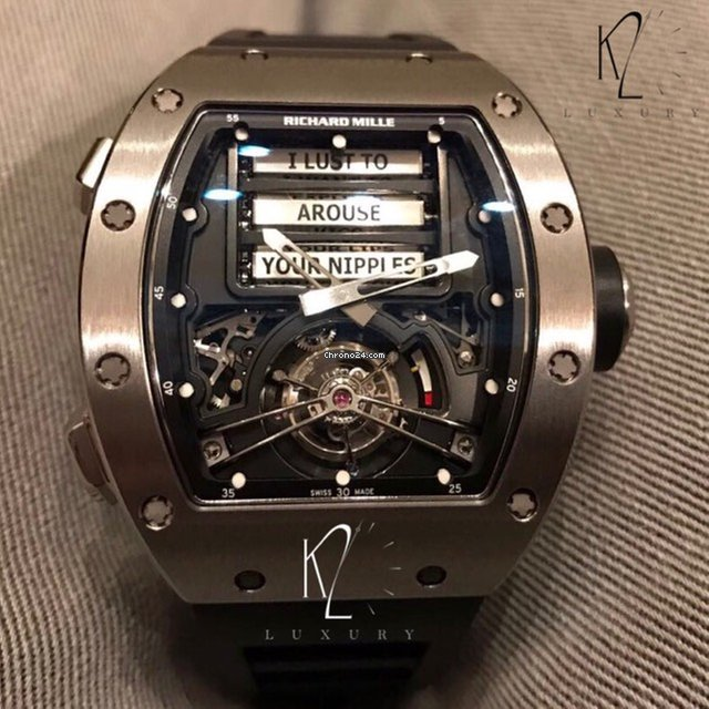 Richard Mille Erotic Tourbillon Rm69 For Price On Request For Sale