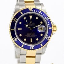 Rolex Submariner Date 16613 Gold and Steel