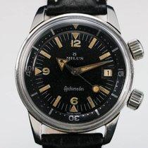 Milus ARCHIMEDES SUPER COMPRESSOR DIVER   1960 Vintage Watch