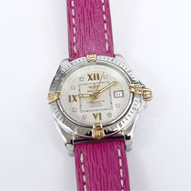 Breitling Cockpit Lady Silver Dial with Diamonds