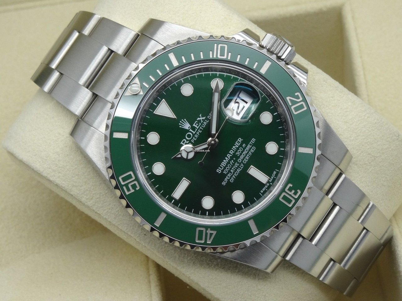 300e66f80 Rolex Submariner 116610lv for $13,950 for sale from a Trusted Seller on  Chrono24