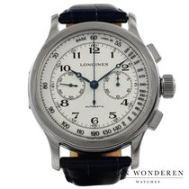 Longines Heritage Staal 47mm Wit Nederland, Purmerend