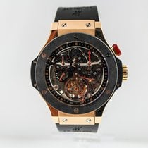 Hublot Bigger Bang Oro rosado 44mm Transparente
