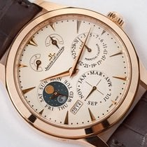 Jaeger-LeCoultre new Manual winding Display Back 40mm Rose gold Sapphire Glass