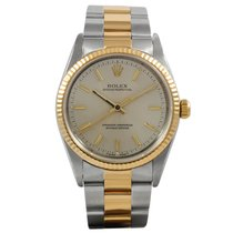 Rolex Oyster Perpetual Gold/Steel 14233