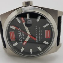 Locman Titanium 43mm Automatic Stealth new