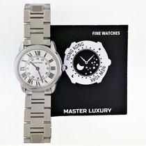 Cartier Ronde Solo de Cartier Acero Plata Romanos