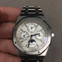 Audemars Piguet Royal Oak Perpetual Calendar Steel 41mm Silver No numerals United States of America, New York, NYC