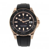 Rolex Yacht-Master pre-owned 37mm Rose gold