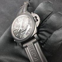 Panerai Luminor 1950 8 Days Chrono Monopulsante GMT Keramiek 44mm Zwart Arabisch