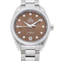 Omega Seamaster Aqua Terra Steel 34mm Brown