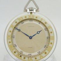 까르띠에 손목 시계 중고시계 1925 플라티늄 48,1mm 수동감기 시계만 있음