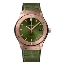 Hublot Classic Fusion 45, 42, 38, 33 mm Rose gold 45mm Green No numerals United Kingdom, London