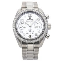 Omega Speedmaster Ladies Chronograph Steel 38mm Mother of pearl Arabic numerals