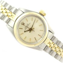 Rolex Oyster Perpetual 26 Gold/Steel 26mm Champagne