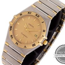 Omega Constellation Gold/Steel 26mm Gold No numerals