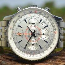 Breitling Montbrillant 01 Acero 40mm Plata