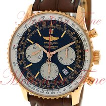 Breitling Navitimer 01 Rose gold 43mm Black No numerals United States of America, New York, New York
