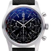 Breitling Transocean Chronograph Unitime Pilot