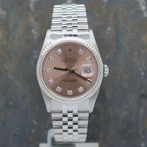 Rolex Datejust Acier 36mm Bronze Sans chiffres