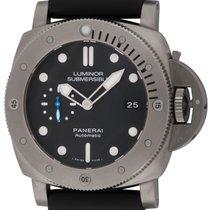 パネライ (Panerai) : Luminor Submersible 1950 3 Days Titanio : ...