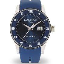 Locman 40mm Quarz neu Island Blau