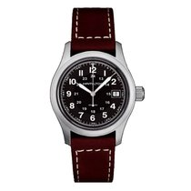 Hamilton H68411533 Steel Khaki Field 38mm new