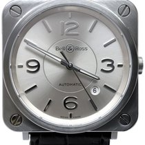 Bell & Ross BR S Steel 39mm Silver No numerals United States of America, Florida, Naples